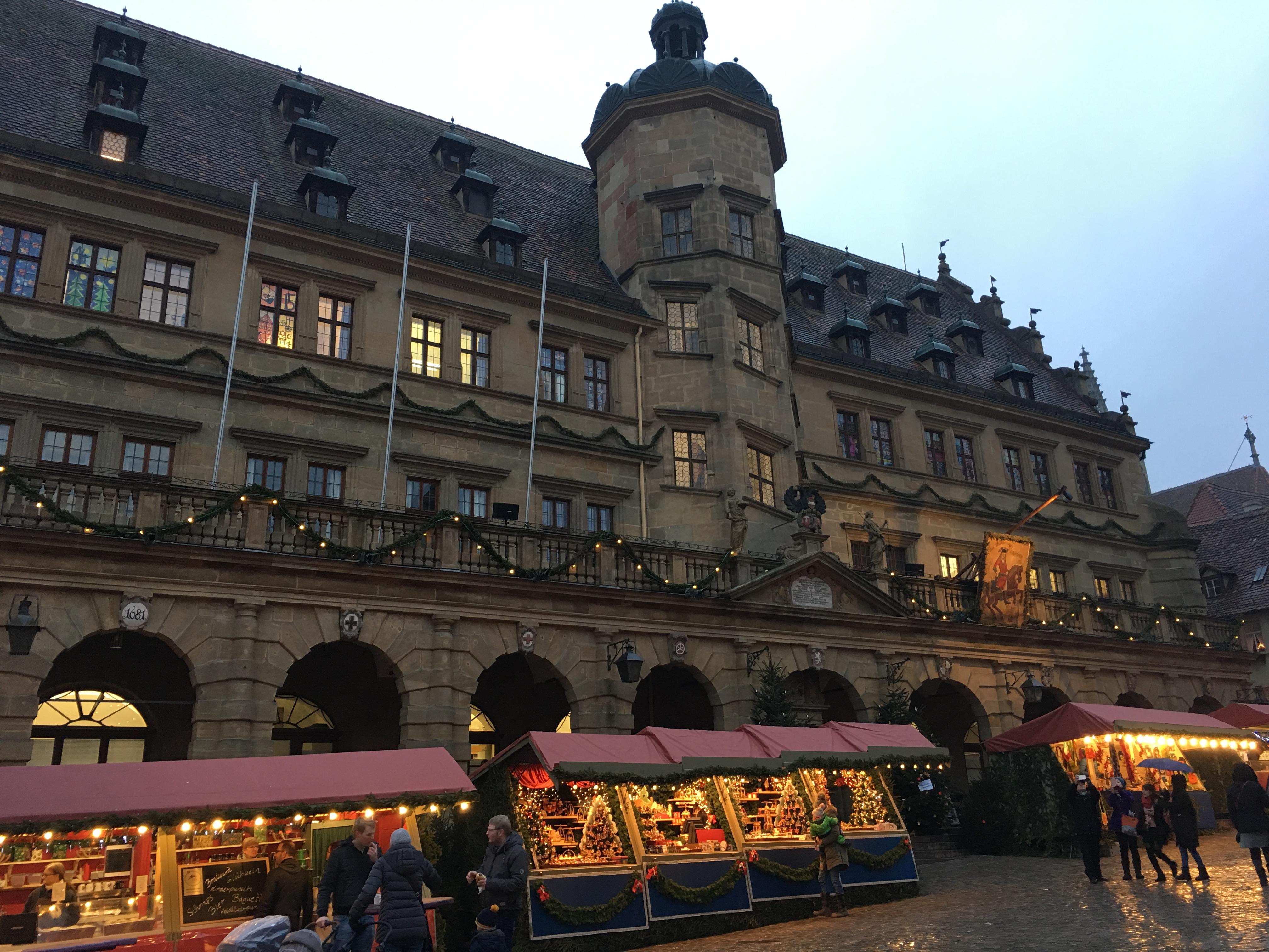 Галерия: Коледният базар в Ротенбург об дер Таубер