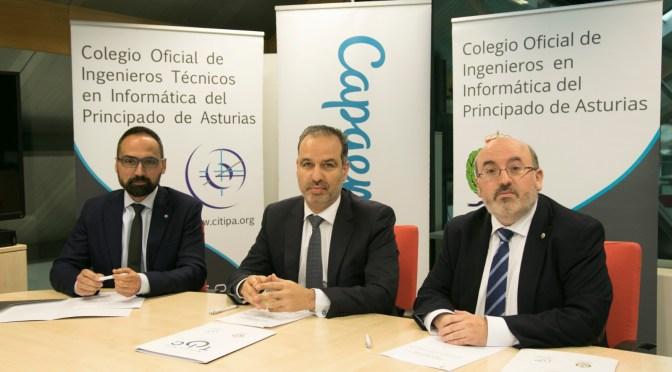 Renovación del convenio entre Capgemini, CITIPA y COIIPA, mayo 2019