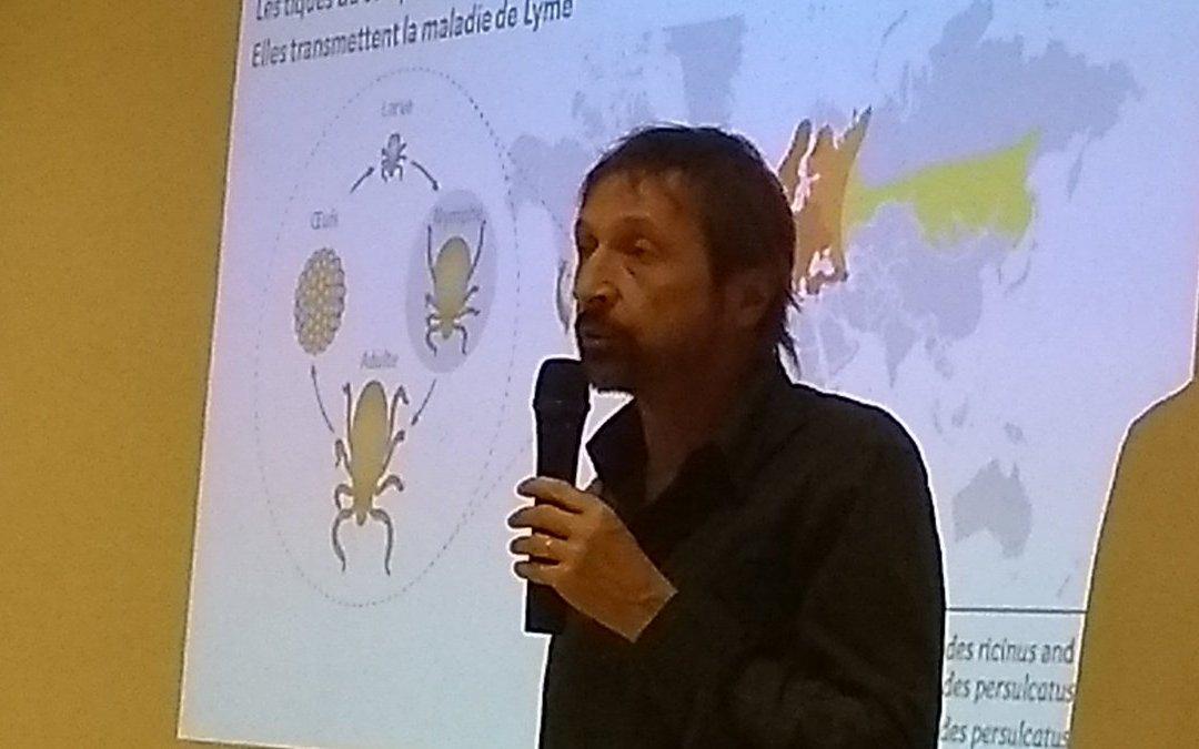 Conférence «Questions et recherches autour des tiques» 14/10/2017