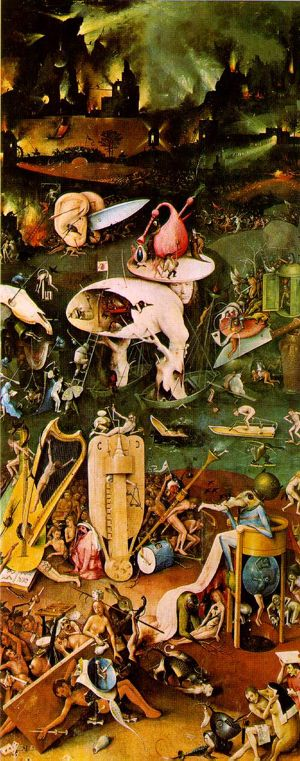 Hieronymus Bosch depicts bureaucrats, planners and administrators doing unspeakable things to each other. Im the one bottom right doing something unmentionable with a pig. Click image for source.