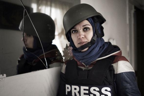 A dark, rancid corner Borri says journalists have failed to explain Syria's civil war because editors only want 'blood.'  Photo © Alessio Romenzi