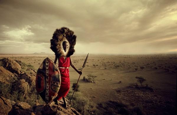 Maasai Tribe, Tanzania Photo  © Jimmy Nelson BV courtesy teNeues