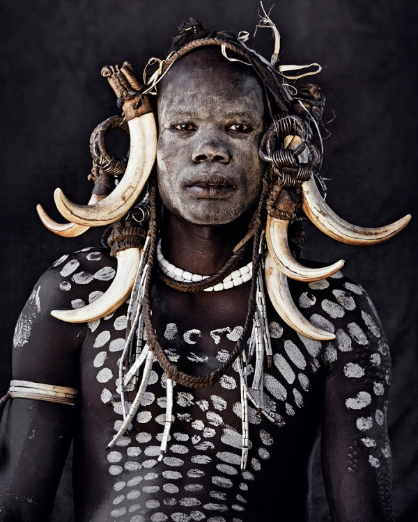 Mursi Tribe, Ethiopia Photo  © Jimmy Nelson BV courtesy teNeues