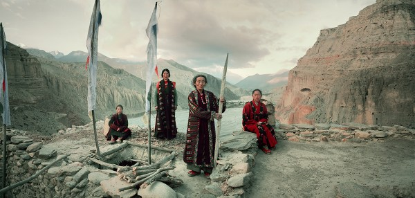 Mustang Tribe, Nepal Photo  © Jimmy Nelson BV courtesy teNeues