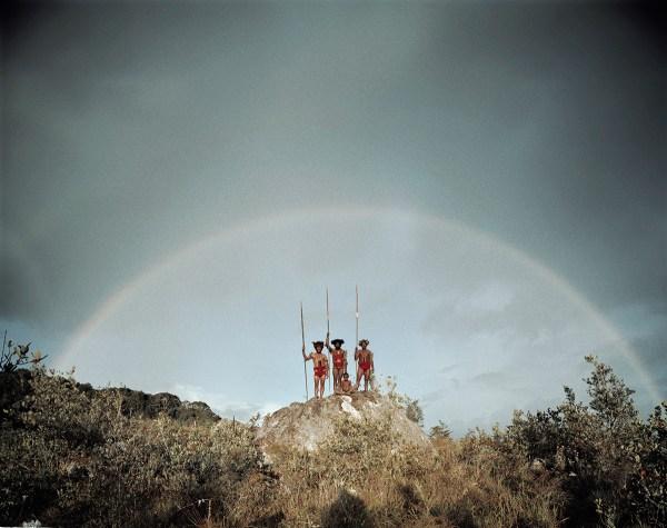 Yali Tribe, Indonesia Photo  © Jimmy Nelson BV courtesy teNeues