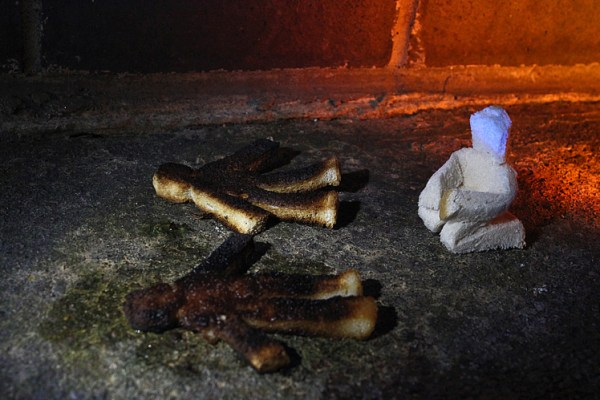 """Someone in this prison burnt my toast."" Photo © MNW"