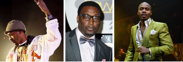 Rakim, Big Daddy Kane and Nas: three undisputed lyrical legends of the rap game, staying smooth in their 40s