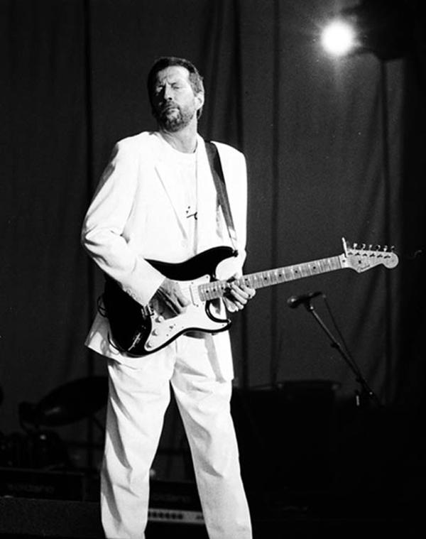 Clapton ©Gene Shaw