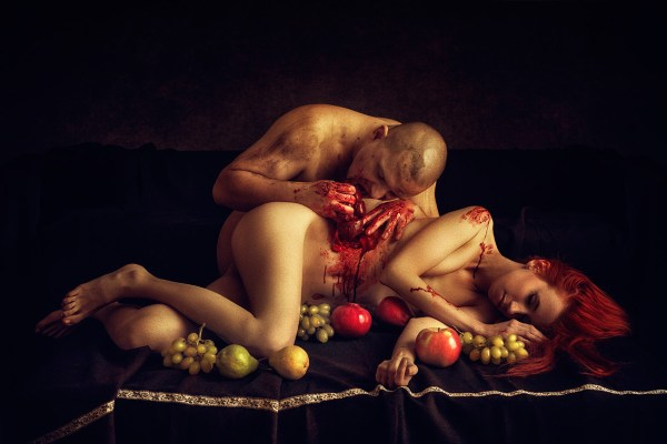 beauty and the beast last supper ©Peter Zelei