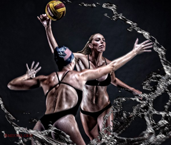 KK Clark - USA Olympic Water Polo Team ©Mitchel Gray