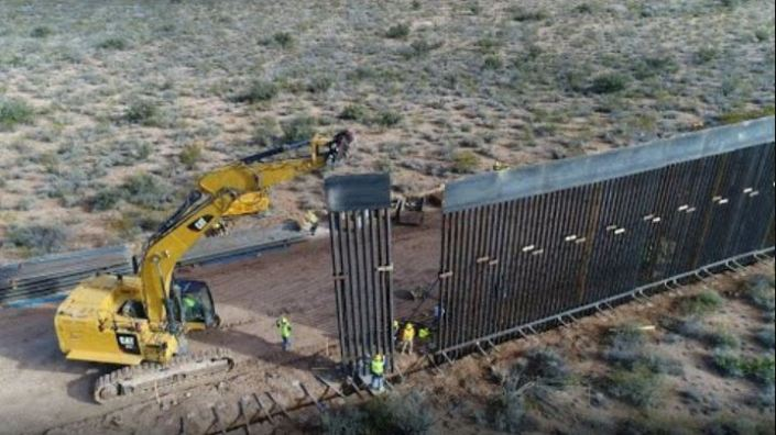 Awesome Drone Footage — The Entire Border Wall Filmed For The First Time! – 23 Construction Sites