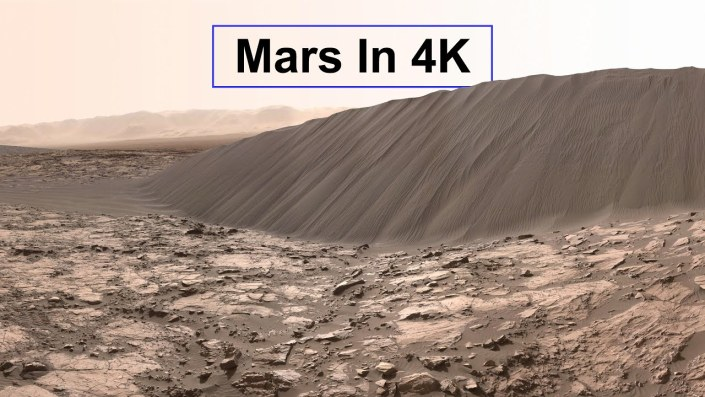 MARS like you've never seen it before…