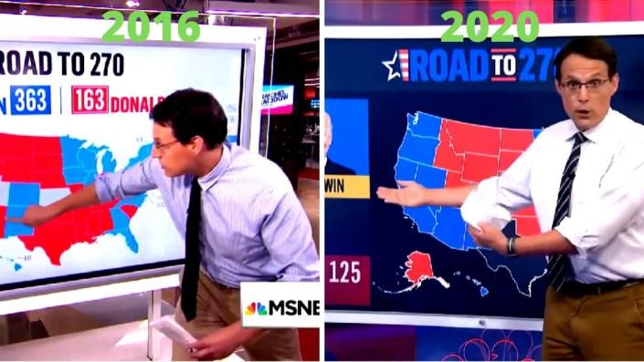 Steve Kornacki electoral failure…