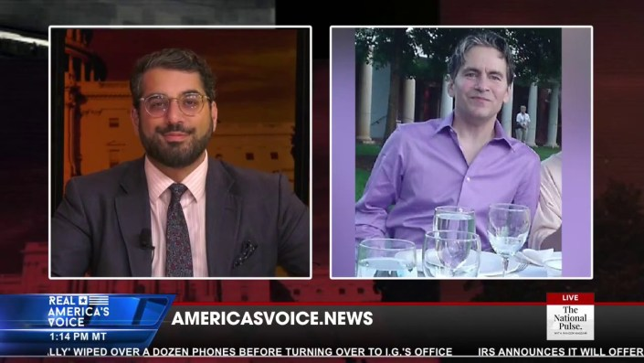 Watch Replay — Citizen Free Press interview on National Pulse TV with Raheem Kassam…