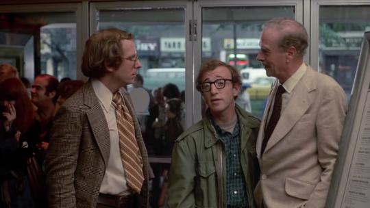 Woody Allen et Marshall McLuhan