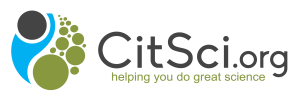 CitSci.org logo with clear background