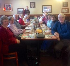 Rockford Seniors at Dennys (1)