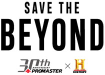 From the CITIZEN PROMASTER / History Channel Save the BEYOND campaign website