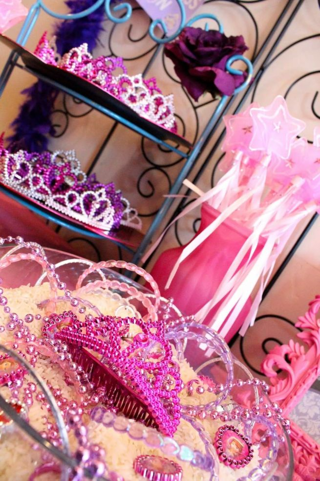 Princess Party Favors Tiaras & Wands