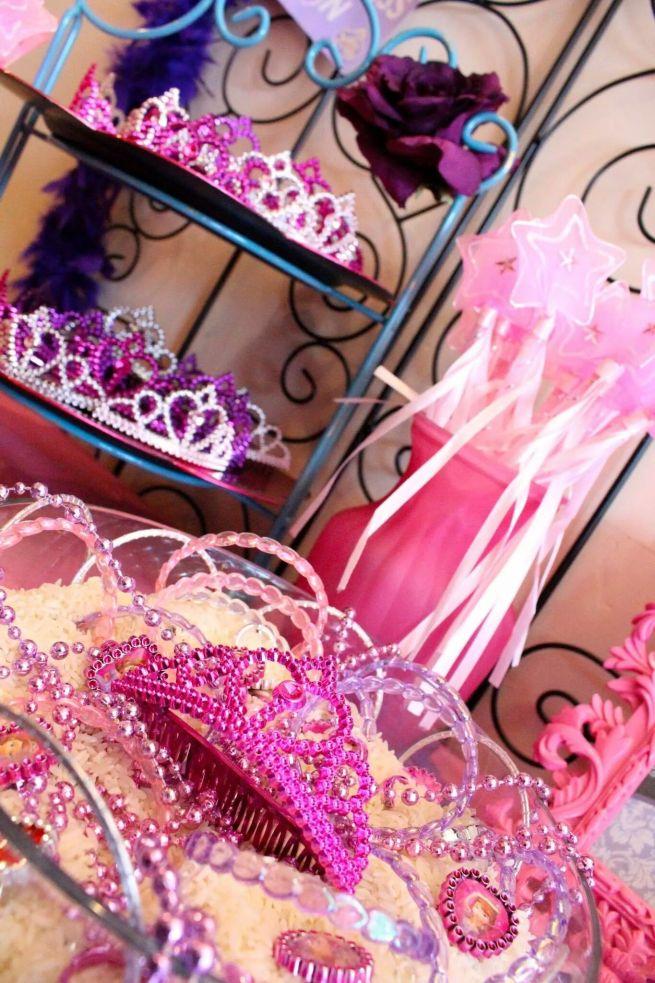 Princess Party Favors Tiaras & Wands