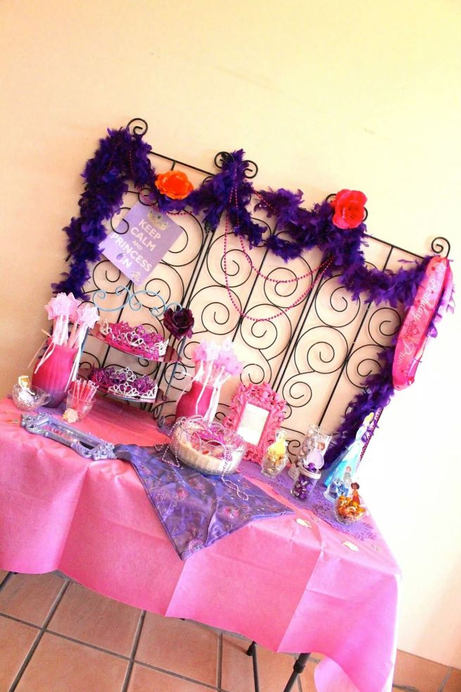 Pink & Purple Princess Party Decorations