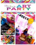 Art Party by Citlali Rose