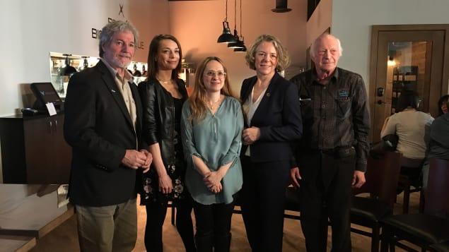 Article écrit sur la page Web d'ICI Saguenay-Lac-Saint-Jean