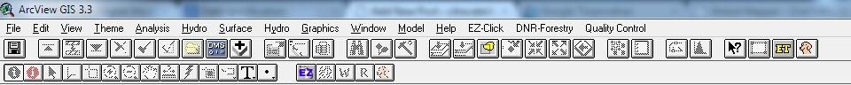 Tampilan Arcview Windows 7 64 bit