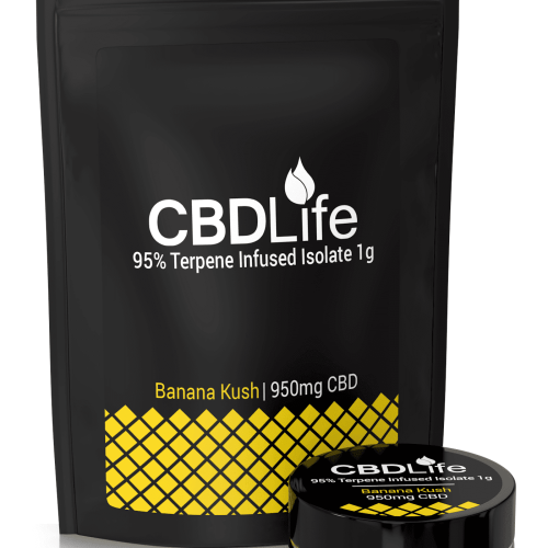 CBD Terpene Infused Isolate