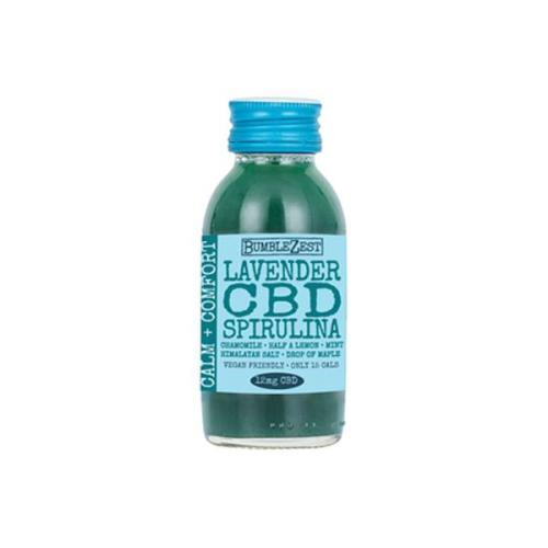 Bumblezest CBD drink lavender spirulina