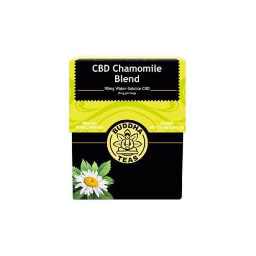Buddha teas cbd tea chamomile blend x 18 tea bags 90mg cbd