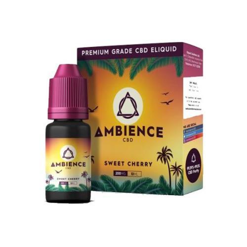 Ambience CBD Eliquids 200mg CBD sweet cherry uk