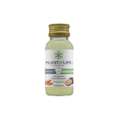 Plant Of Life 25mg CBD Immunity Booster 60ml uk