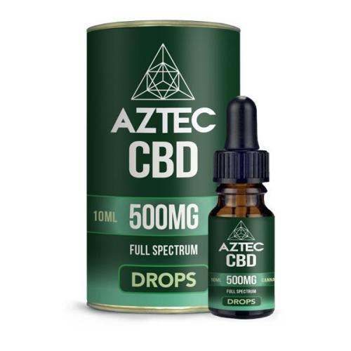 Aztec CBD Full Spectrum 500mg CBD OIL UK