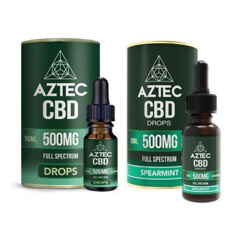 Aztec CBD Full Spectrum 500mg CBD OIL DROPS UK