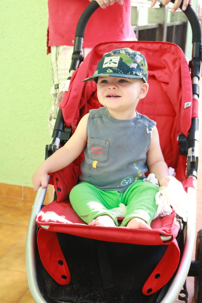 travelling to Cuba with toddler, hat for protection