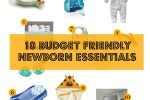 10 affordable budget friendly newborn essentials must have