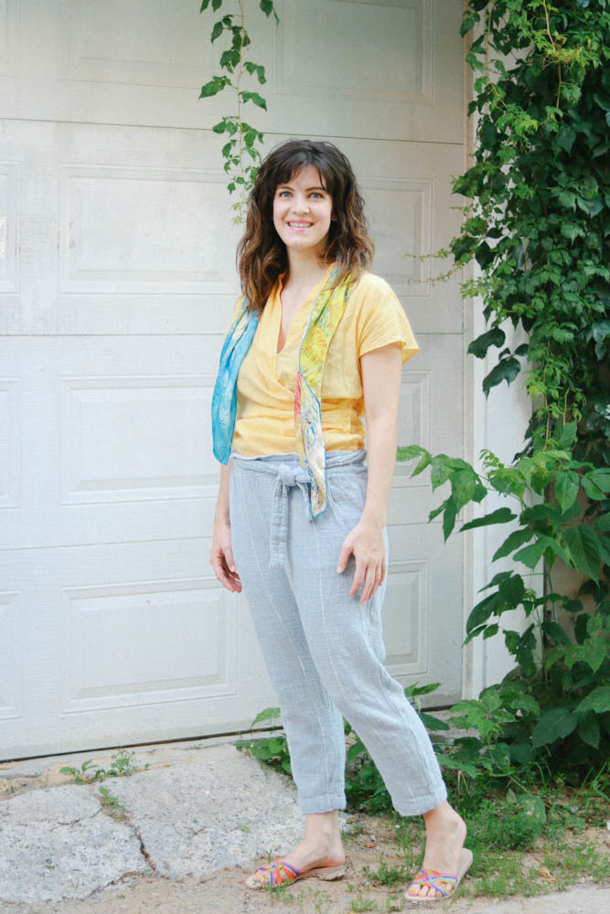 summer outfit, yellow color, casual summer style, yellow and blue, style ideas