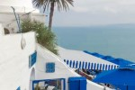 2017 summer style, travelling to tunisia, tunisie, family vacation, blue, sidi bou said