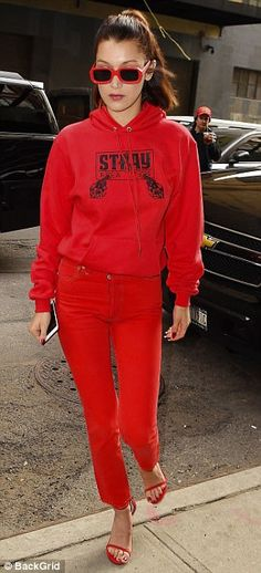valentines day, red outfit, monochromatic, red style, red sweater, winter style, casual outfit