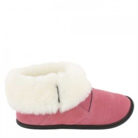 canadian products, winter wear, sheepskin slippers, pink slippers