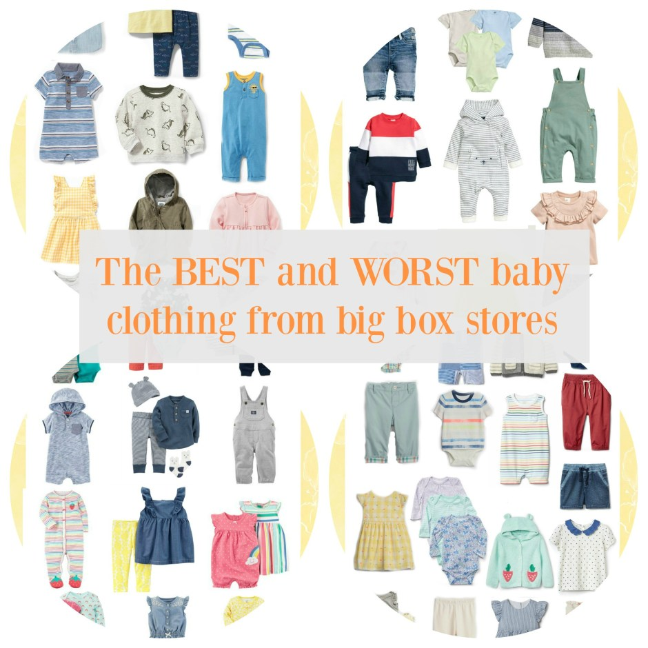 bf9a8e6f5 The best and worst baby clothing from big box stores • Citrus Love ...