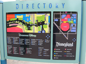 Directory and Wayfinding Signs Orlando