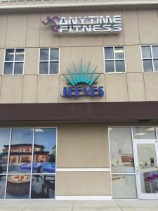 Jeeves Property Management Side Building Sign