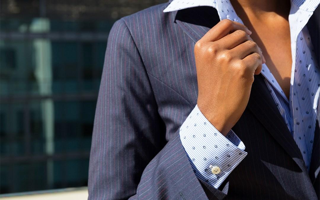 Le mode dettate dai tessuti: Il Gessato