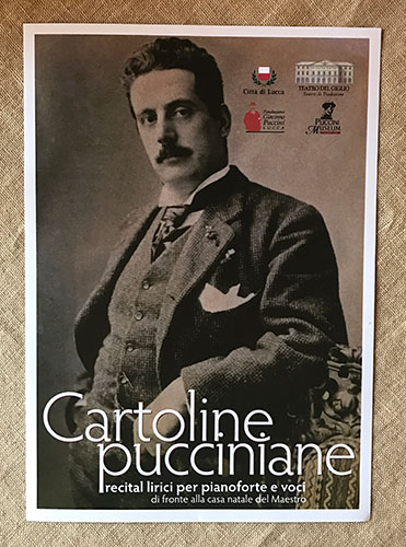 Image result for cartoline pucciniane 2019