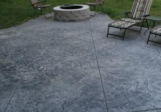 poured concrete patio price