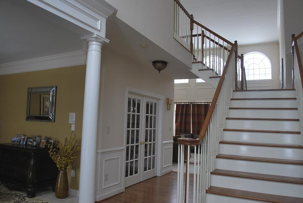 Foyer Home Insurance : Painting open floor plan ideas