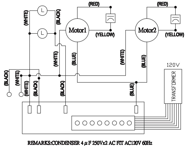 condenser fan motor wiring diagram condenser image fasco fan motor wiring diagram wiring diagram on condenser fan motor wiring diagram