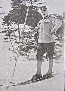 18594 - 日本にスキーを伝えたテオドル・フォン・レルヒ陸軍少佐